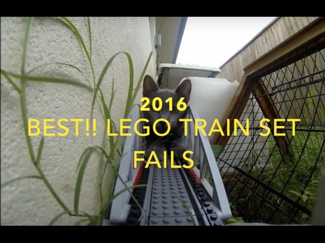 2016 Best Lego Train Set Fails!!