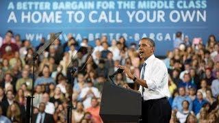 President Obama Speaks on Restoring Security to Homeownership