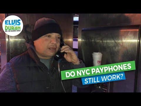 Do NYC Payphones Still Work? | Elvis Duran Exclusive