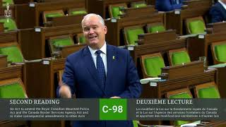 Bill C-98: Another Last Minute Liberal Bill (May 17, 2019)