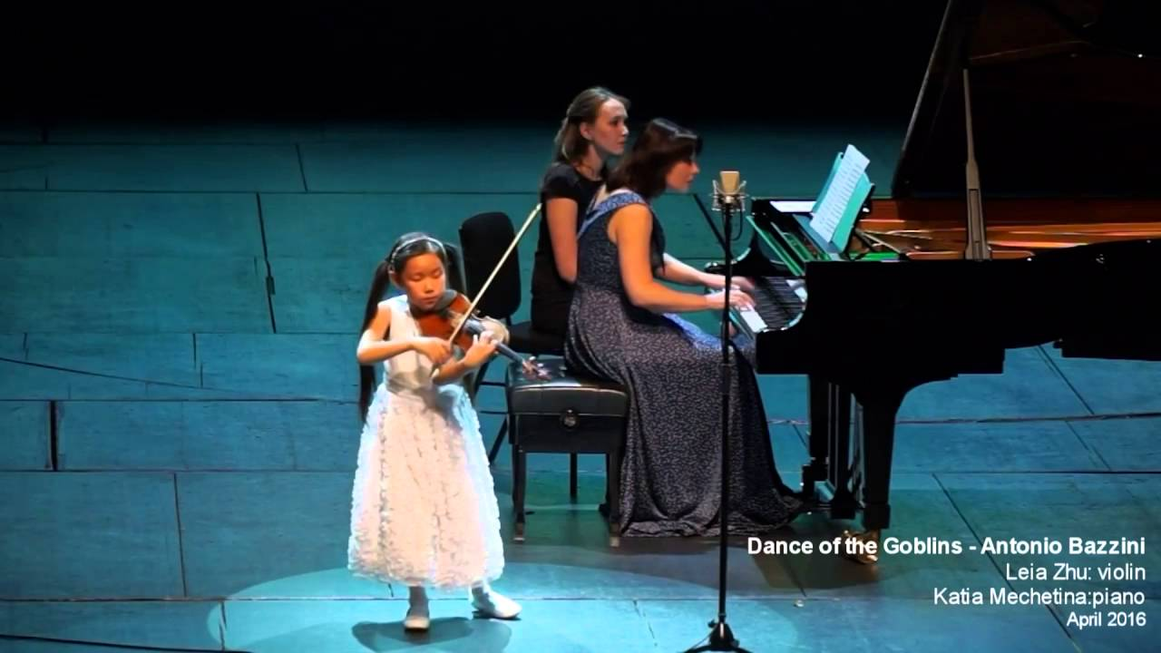 9-year-old Leia Zhu was Invited to Perform in Green Noise Festival Russia