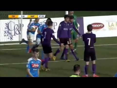 Antonio Cioffi - Primavera 1 Fiorentina Napoli
