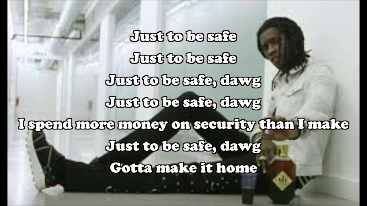 Download Young Thug Safe LYRIC VIDEO