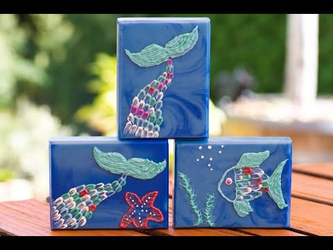 "Brush embroidery soap for ""soap challenge August 2019"" (part I)"