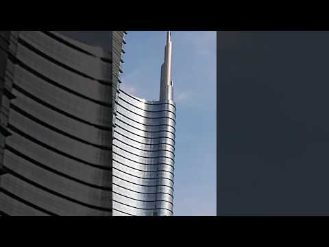 Tallest building in Italy, Unicredit Tower, Milan