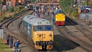 Severn Valley Railway Diesel Gala 04/10/2014