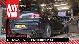 Volkswagen Golf GTI Edition 35 - Op de Rollenbank