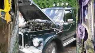 видео Тюнинг ГАЗ 69 – замена мотора и КПП, доработка трансмиссии, покраска + Видео