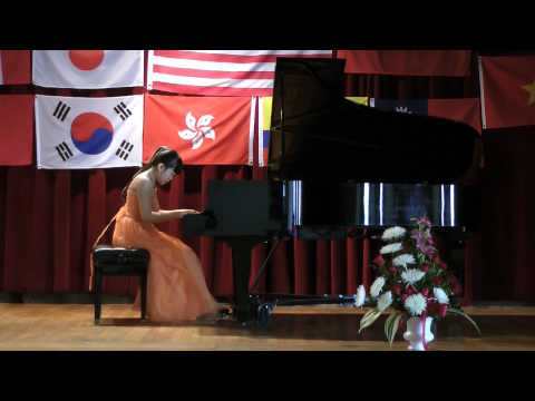 VI Chopin International Piano Competition, Hartford, CT-Lilian Xu (11), I Prize