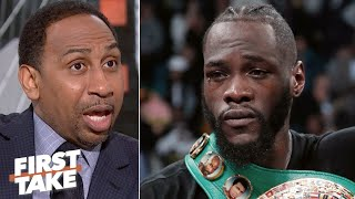 Deontay Wilder challenging Tyson Fury to a rematch could be a mistake – Stephen A. | First Take