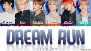Download lagu NCT DREAM DREAM RUN Lyrics MP3