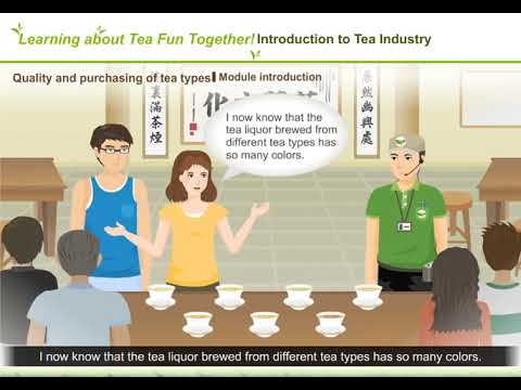 5-1Quality and purchasing of tea types- Module introduction