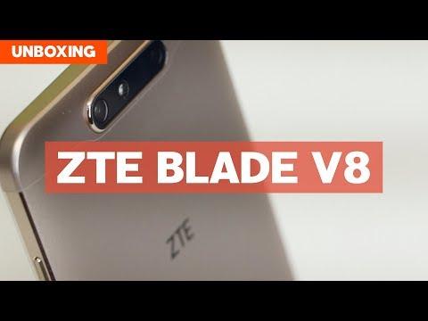 Unboxing: ZTE Blade V8 con @jmatuk