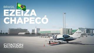 Prepar3D - Citation Mustang / Ezeiza → Chapecó