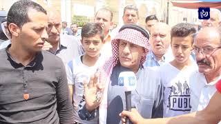 وقفة احتجاجية في الكرك رفضا لنقل مجمع السفريات - (29-8-2019)