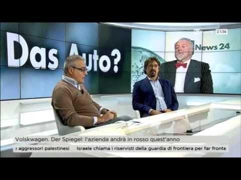 DIESELGATE, MASSIMO MANFREGOLA RAI NEWS 24