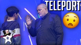 Magician Finalist SHOCKS Judges With Teleportation! | Magicians Got Talent