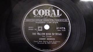 Johnny Desmond: The yellow rose of Texas. (1955).