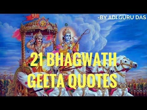 21 Bhagwadh Geeta Quotes In Hindi -By Adi Gurudas
