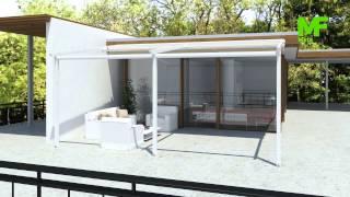 Retractable Roof Pergola Star - Πέργκολα Star