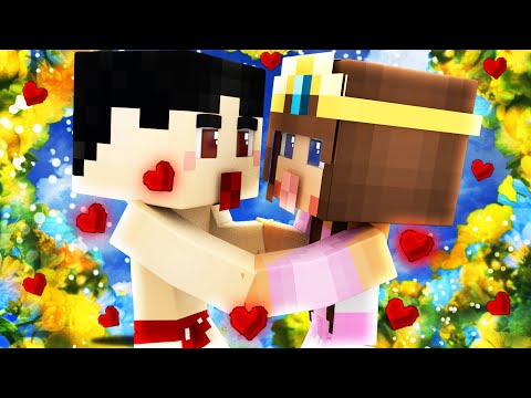 Minecraft - WHO'S YOUR MOMMY? - BABY FIRST KISS!