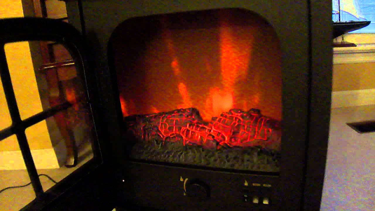 fake fireplace heater xmas gift youtube