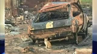 Из-за брошенного на трассе окурка сгорело село