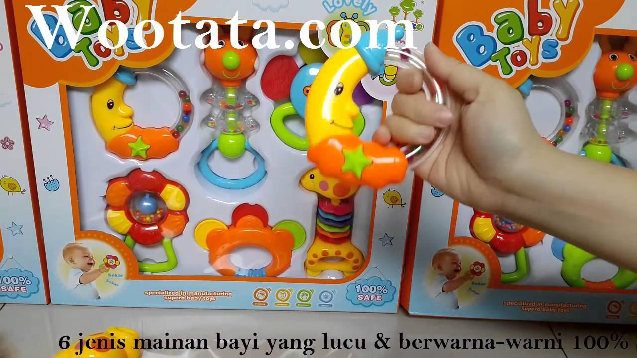 mainan untuk anak bayi 3 bulan baby toys