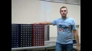 Видео-обзор органайзера кассетниц с ячейками для мелочей.(, 2012-06-19T11:04:26.000Z)