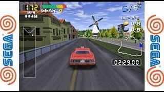 San Francisco RUSH 2049 - SEGA Dreamcast Gameplay Sample HD - Demul Emulator