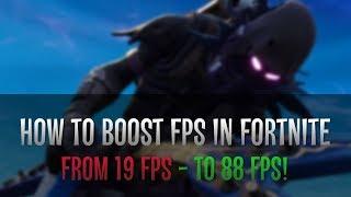 increase fps fortnite season 7