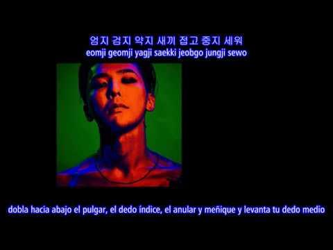 G-DRAGON - Middle Fingers-Up (Sub Español - Hangul - Roma)
