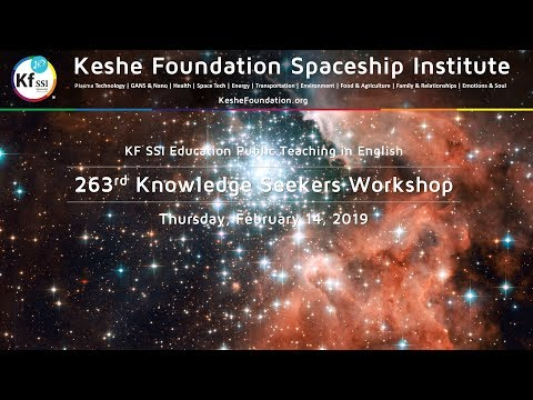 263rd Knowledge Seekers Workshop - Thursday, February 14, 2019, 9 am CET Mp3