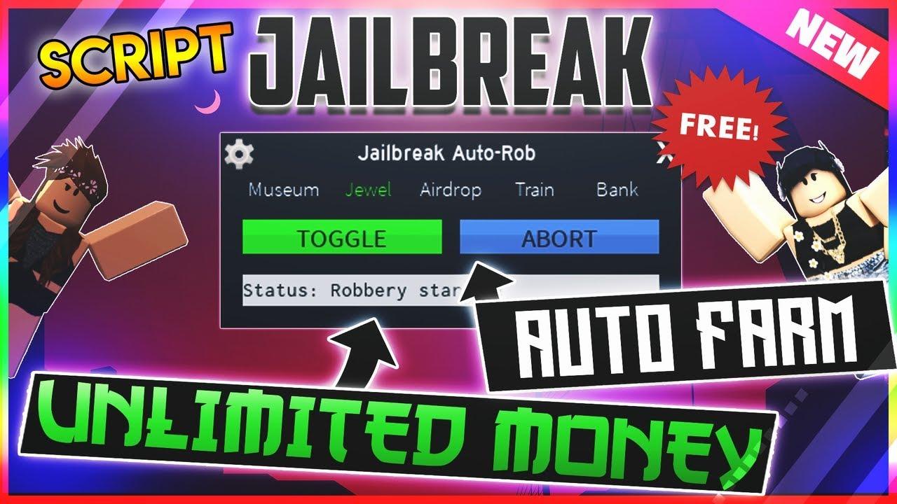 Unlimited Money New Roblox Script Hack Jailbreak Auto Rob
