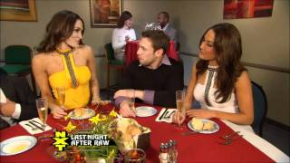 Daniel Bryan and Bateman's double-date with the Bella Twins