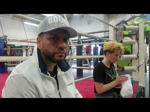 future superstar andrea medina in san diego EsNews Boxing