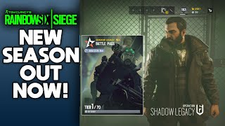 OPERATION SHADOW LEGACY IS OUT NOW! NEW BATTLE PASS! NEW SEASON OF RAINBOW SIX SIEGE IS LIVE!