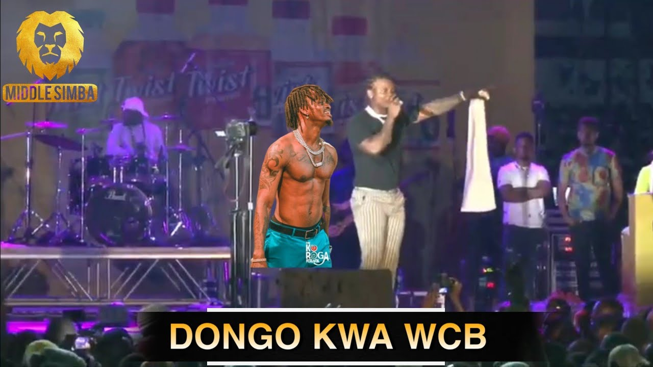 VIDEO:HARMONIZE akiimba live wimbo wake mpya wenye vijembe kwa WCB/tazama mwenyewe hapa/mashabiki...