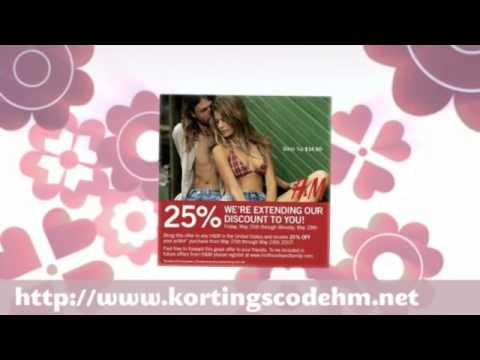 Download Kortingscode H&M