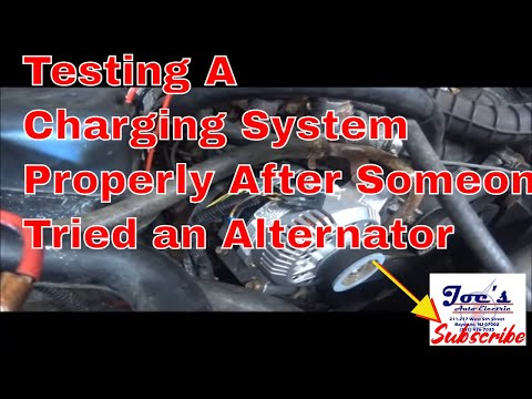 1997 Ford F250 Not Charging - YouTube