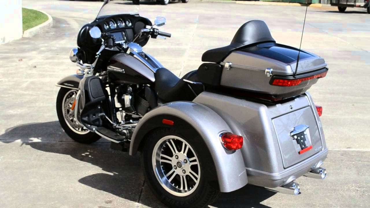 2016 Harley Davidson Tri Glide Ultra Confidence And: 2016 Harley-Davidson Tri Glide Ultra In Two-Tone Billet