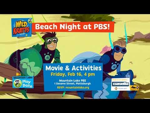 Beach Night at Mountain Lake PBS with Wild Kratts