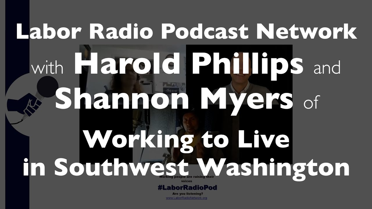 Spotlight - Shannon Myers & Harold Phillips of Working To Live In Southwest Washington