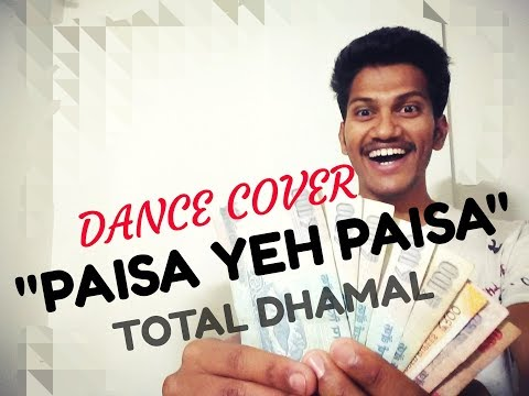 Paisa Yeh Paisa | Total Dhamaal | Dance Cover | Shivam Mangnale Choreography