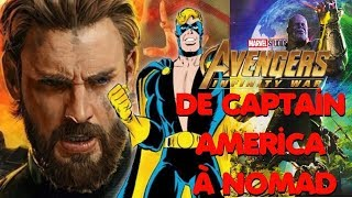 Infinity War : De Captain America à Nomad