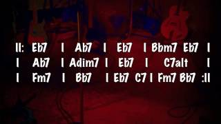 Download Jazz Blues Backing Track (Eb) MP3 song and Music Video