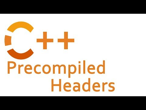 Precompiled Headers In C++