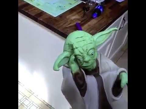 Slapping Yoda