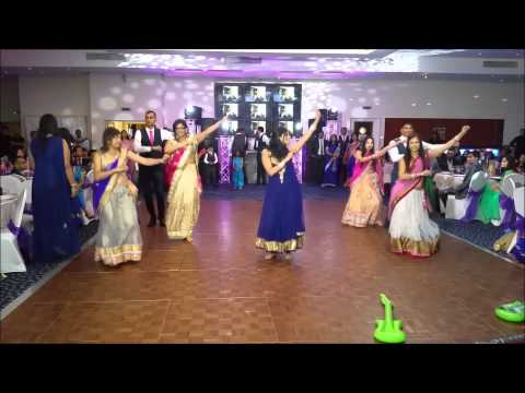 Surprise family dance at my sister's Indian wedding reception...