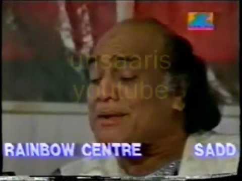 Mehdi Hassan live in India munh takaa hi kare hai jis tis ka